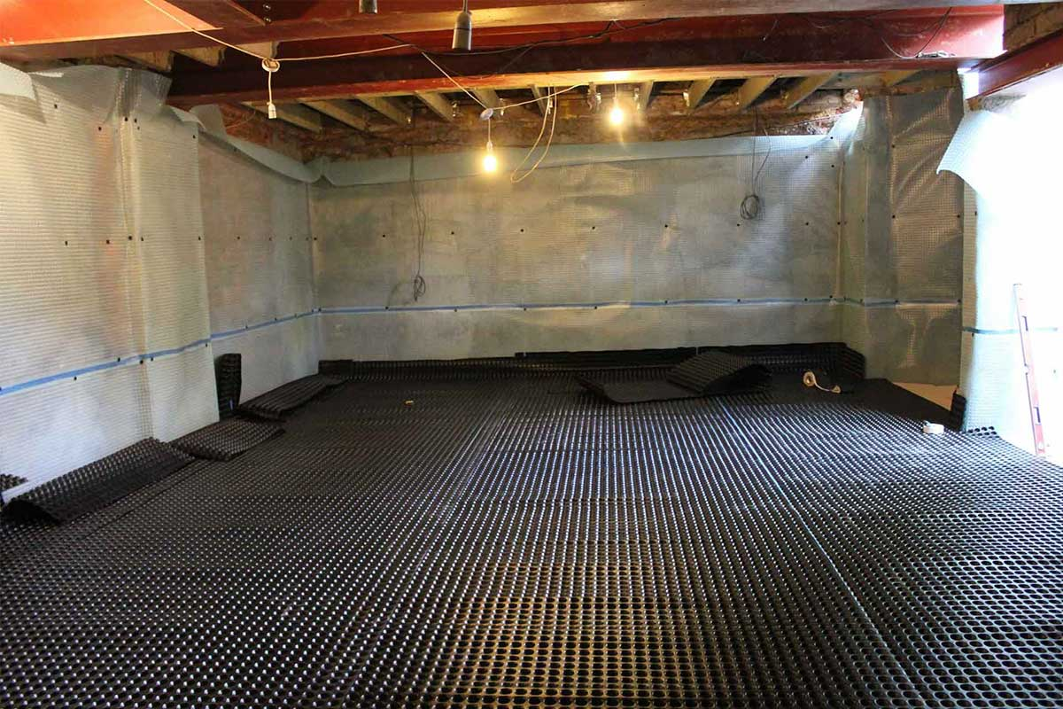 Process of Basement Waterproofing